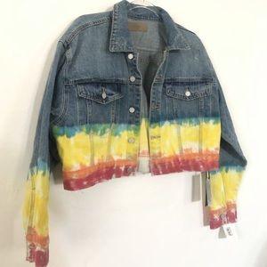 Denim Jacket tie-dye BLANK NYC